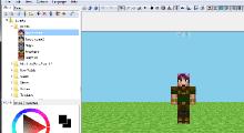 Minecraft — MCSKIN3D — 3D редактор скинов | Minecraft моды