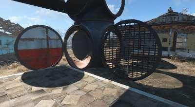 Fallout 4 — Трубы для поселений   Fallout 4 моды