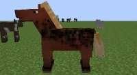 Minecraft 1.7.2 — Улучшение лошадей (анимации) | Minecraft моды
