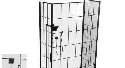Sims 4 — Душевая в стиле Лофт (Loft Bathroom — Shower) | The Sims 4 моды