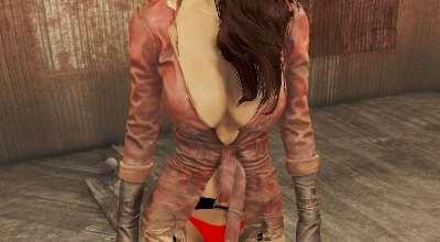 Fallout 4 — Откровенный наряд Пайпер | Fallout 4 моды