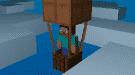 Воздушный шар [minecraft mod]