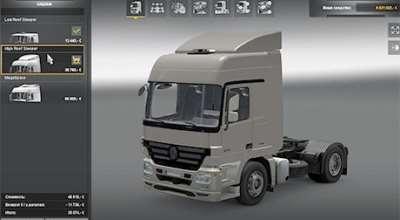 ETS 2 — Mercedes Benz Actros 1844 | ETS2 моды