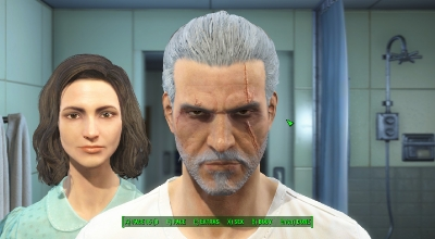 Falout 4 — Геральт из Ривии | Fallout 4 моды