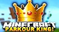 Minecraft — Карта «Король паркура» | Minecraft моды