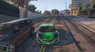 GTA 5 — Новый вид джестера (Weed-Mobile Paintjob) | GTA 5 моды