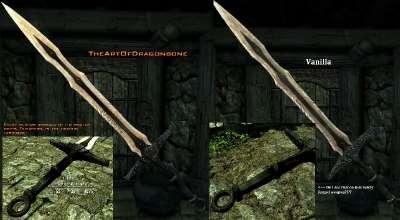Skyrim — Искусство Драконорождённого | Реплейсер всего оружия DLC Dragonborne | Skyrim моды
