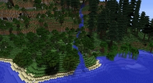 Minecraft — Alternate Terrain Generation | Minecraft моды