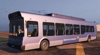 GTA 5 — Реалистичные автобусы (Real Airlines Bus Pack)   GTA 5 моды