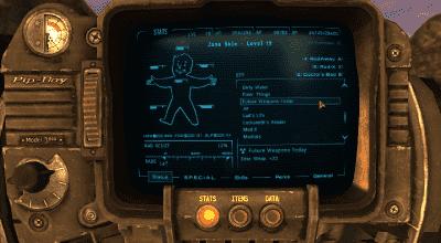 Fallout NV — DarNified UI NV | Fallout New Vegas моды