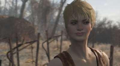 Fallout 4 — Спутница Сера | Fallout 4 моды