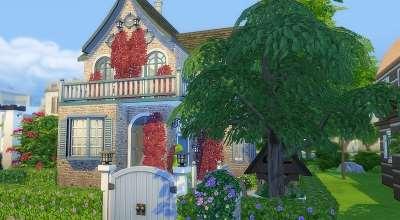 Sims 4 — Коттедж Риверола | The Sims 4 моды