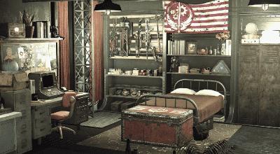 Fallout 4 — Улучшение дома для игрока «Кубрики на «Придвене» | Fallout 4 моды