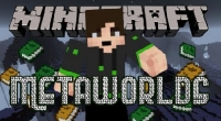 Minecraft 1.7.2 — MetaWorlds | Minecraft моды