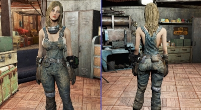 Fallout 4 — Открытый комбинезон (CBBE) | Fallout 4 моды