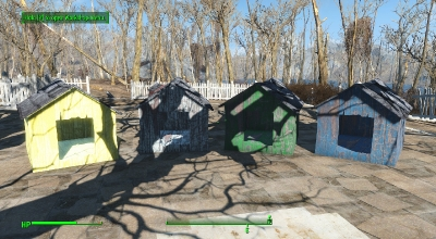 Fallout 4 — новые собачьи будки (More Doghouses)   Fallout 4 моды