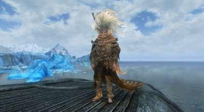 Skyrim — Броня и оружие Безымянного Короля из Dark Souls 3 | Skyrim моды
