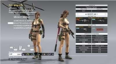 MGS V: TPP — Обнаженная Quiet (Nude Quiet) [18+] | Metal Gear Solid V моды