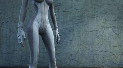 Fallout 4 — Ретекстур костюма предвестника | Fallout 4 моды