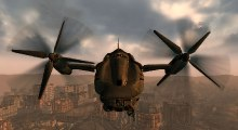 Fallout 3 — Полностью управляемый Винтокрыл | Fallout 3 моды