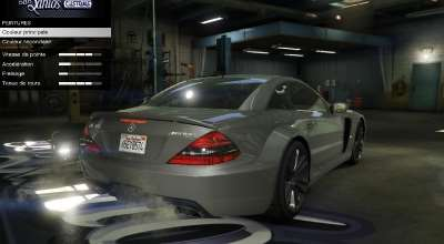 GTA 5 — Mercedes AMG SL 65 Black Series | GTA 5 моды