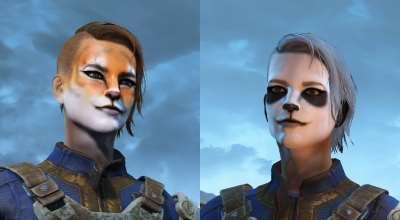 Fallout 4 — Новые татуировки для лица (Faces Wild)   Fallout 4 моды