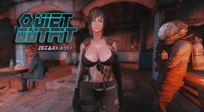 Fallout 4 — Наряд Молчуньи (CBBE) | Fallout 4 моды
