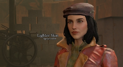 Fallout 4 — Улучшение лица Пайпер   Fallout 4 моды