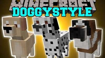 Minecraft — DoggyStyle / Новые породы собак | Minecraft моды