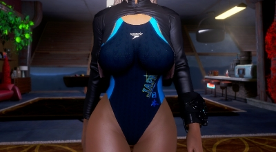 Fallout 4 — Купальники для девушек / Competition Swimsuit — CBBE — BodySlide | Fallout 4 моды