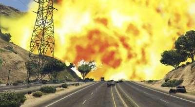 GTA 5 — Ракетница с ядерными боеголовками | GTA 5 моды