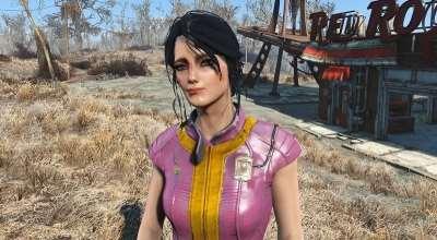 Fallout 4 — Лаура — девушка из убежища | Fallout 4 моды
