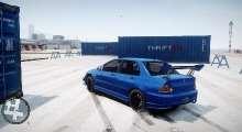 GTA IV — Дрифт трасса в аэропорту | GTA 4 моды