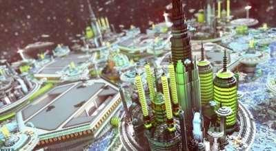 Minecraft — Футуристичный Город 1.9.4 — 1.10.2 | Minecraft моды