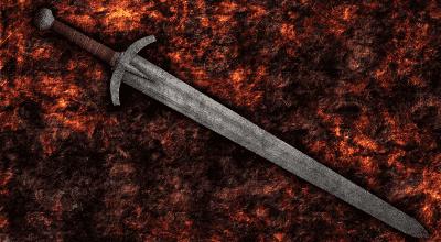 Oblivion — Ретекстур Железного Длинного меча | Oblivion моды