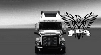 ATS — Скин «Super Truck» для American Truck Simulator (1.30)