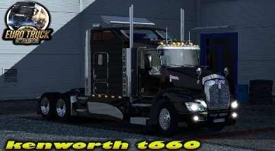 ETS 2 — Kenworth T660 | ETS2 моды