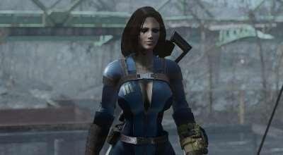 Fallout 4 — Откровенный комбинезон убежища 111 (для CBBE) | Fallout 4 моды