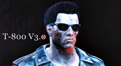 Fallout 4 — Сохранение за персонажа T-800 (T-800 V3.0) | Fallout 4 моды