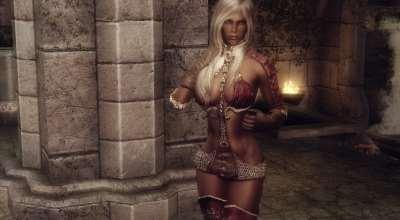 Skyrim - Броня жрицы (Hermaeus Mora Priestess Armor) - Новая броня и