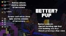 Minecraft — Better PvP для 1.6 — 1.11 | Minecraft моды