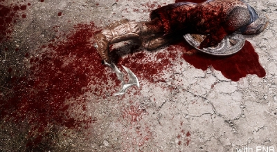 Улучшенные текстуры крови / Enhanced Blood Textures SE | Skyrim Special Edition моды