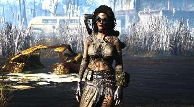 Fallout 4 — Девушка атом | Fallout 4 моды