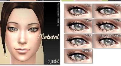 Sims 4 — 3D ресницы | The Sims 4 моды