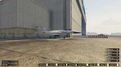 GTA 5 — Истребитель в обычном аэропорту (Lazer Spawn at Airport) | GTA 5 моды