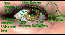 Skyrim — HD глаза для всех рас и вампиров | Skyrim моды