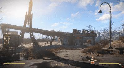 Fallout 4 — Минималистичный HUD силовой брони   Fallout 4 моды