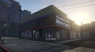 GTA 5 — Автосалон (Premium Deluxe Motorsports Car Shop) | GTA 5 моды