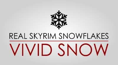 Skyrim — Реальный снег (с поддержкой физики) | Skyrim моды