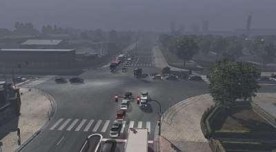 ETS 2 — Увеличение траффика (Multiple AI Traffic) | ETS2 моды